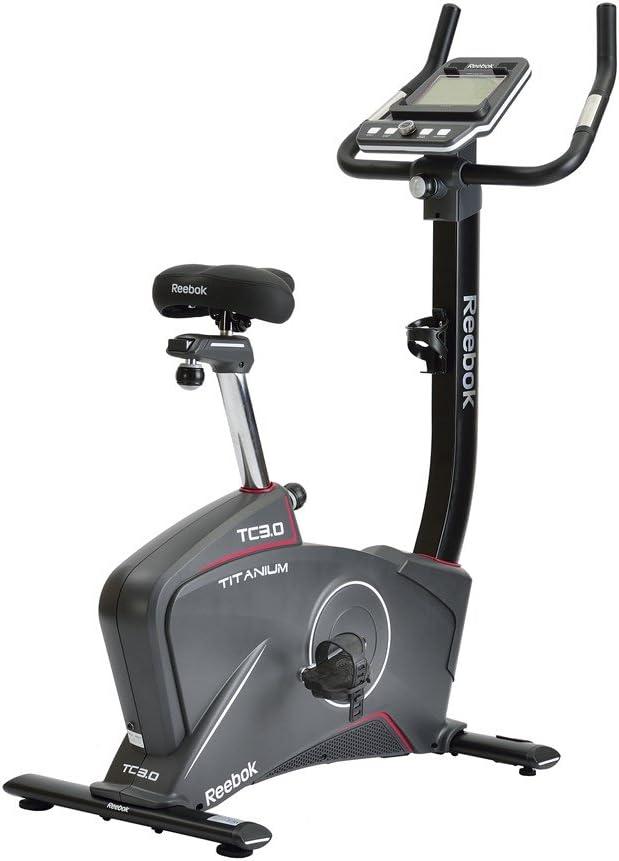 Reebok TC3.0 Bike + Bluetooth Bicicleta Estática, Negro, Talla Única: Amazon.es: Deportes y aire libre