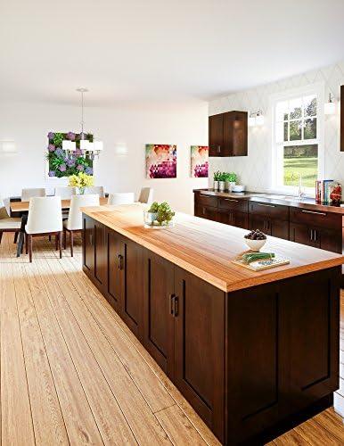 Design House 562405 Brookings 3-Inch Cabinet Filler Espresso Shaker