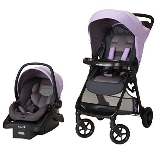 Safety 1st Smooth Ride Travel System with onBoard 35 Infant Car Seat, Wisteria ()