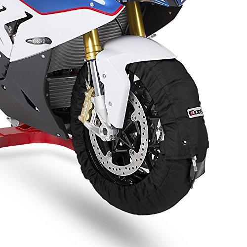 ConStands Calentadores de neumáticos Moto 60-80-95 C Set Rueda Delantera y Trasera: Amazon.es: Coche y moto