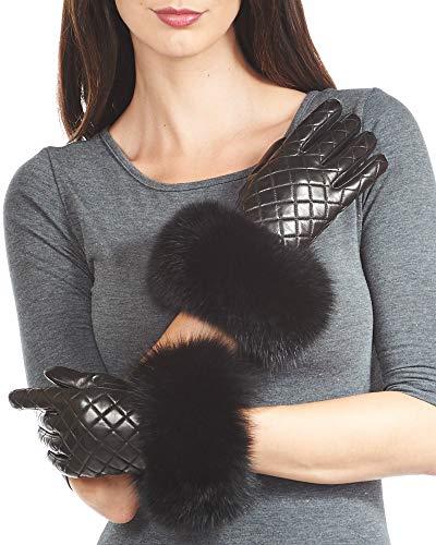 Lambskin Leather Gloves...