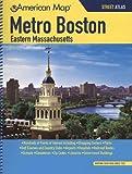 American Map Metro Boston Eastern Massachusetts: Street Atlas (METRO BOSTON EASTERN MASSCHUSETTS STREET ATLAS)