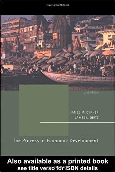 Book The Process of Economic Development by James M. Cypher (2004-03-12)
