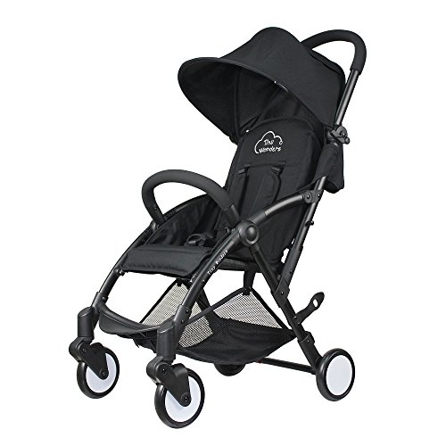 Baby Stroller Light Weight Stroller Portable Stroller(Black) - Tiny Wonders