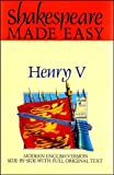 Henry V : Shakespeare Made Easy, Shakespeare, William, 0091822890