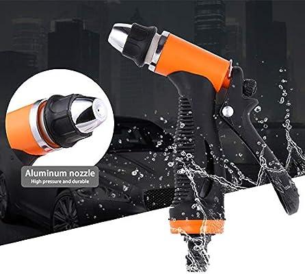 Aliaoforz Lavadora de Coches Pistola Pump12V Cuidado de Limpieza a ...