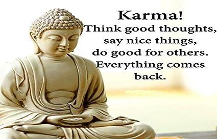 Gautama Buddha Poster Art Print Photo Gift Motivation Quotes The Wisdom of..