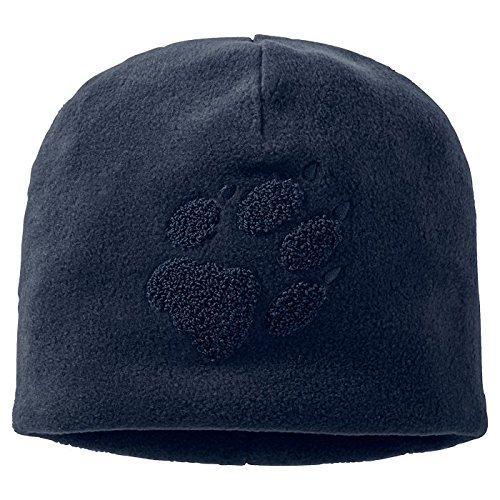 Mens Hat Hat Walking Night Paw Blue Wolfskin Polyester Jack Beanie aq1575