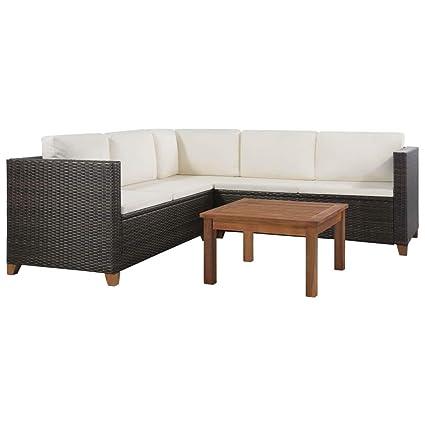 Outstanding Amazon Com Daonanba Durable Comfortable Sofa Set Outdoor Bralicious Painted Fabric Chair Ideas Braliciousco