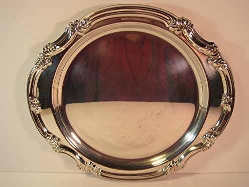 Gorham Silversmiths, Decorative Silver-Plated Tray, 12 (Gorham Silver Plated)