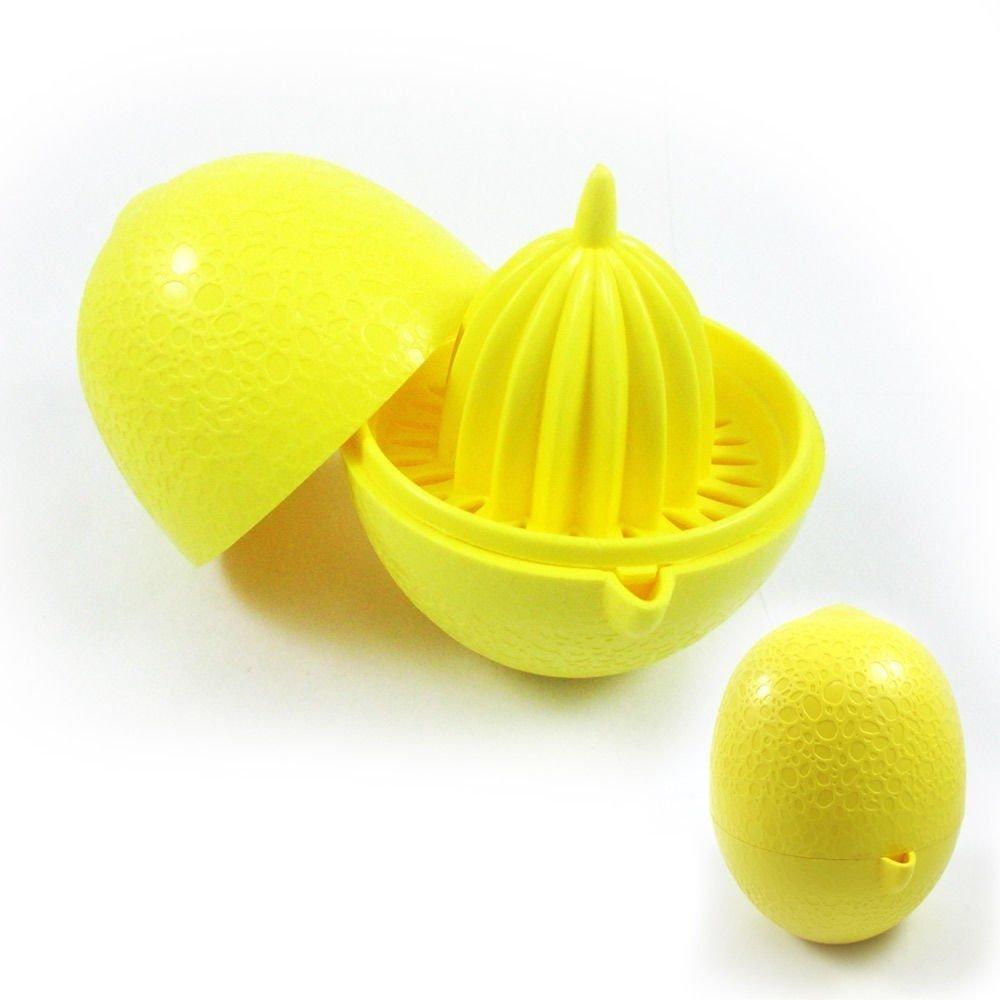 1 x exprimidor de fruta 2 unidades, diámetro 69 mm, 100 mm de alto, exprimidor, exprimidor, naranjas de prensa, 1 de 3 colores avantageLux 8693395002173