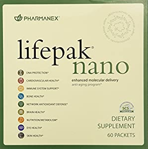 Pharmanex LifePak Nano anti-aging dietary supplement - 60 packets