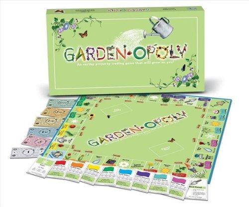 Late for the Sky GARD Garden-Opoly Board (Garden Opoly Game)