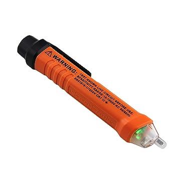Pluma de prueba del detector de voltaje, ANENG profesional VD801 Pluma de prueba de inducción