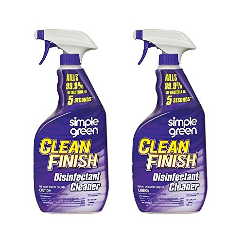 (Simple Green 32 oz. Clean Finish Disinfectant Cleaner, Pack of 2)