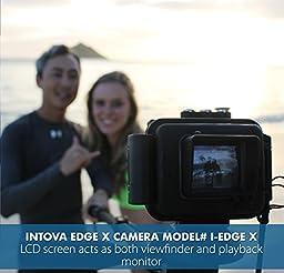 Intova Edge X Waterproof 1080p HD WiFi Video Camera