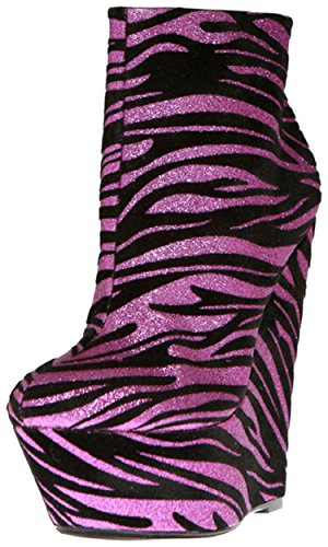 Women's The Bootie Fzeb Heel Wedge Haley 11 Highest zqASqO