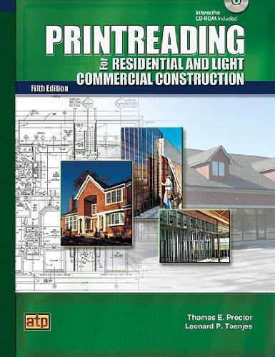 Printreading for Residential and Light Commercial Construction by Thomas E. Proctor (2009-09-25)