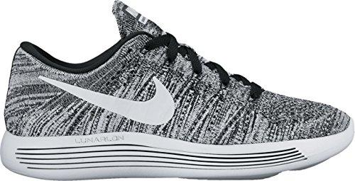 Nike 843765-001 Women W Lunarepic Low Flyknit Black/White