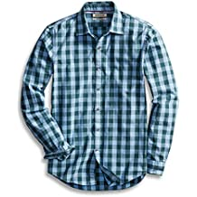 Goodthreads Men's Slim-Fit Long-Sleeve Large-Scale Check Shirt!