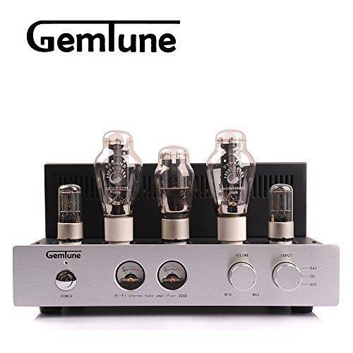 GemTune GP-01 Hi-end Vaccum Tube Amplifier with 300B*2+6N8P*2+5Z3P*1 Gemtune