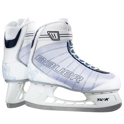 Bauer Flow Recreational Girls Ice Skates - 3.0, R' for ASIN 'B00AM42MKK (Bauer Lace)