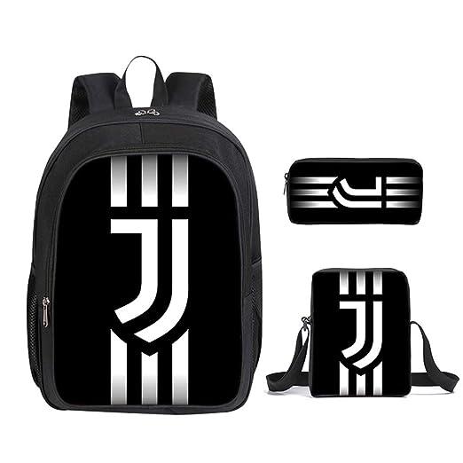 Mochila De Doble Capa, Contiene de Juventus Tema Backpack ...