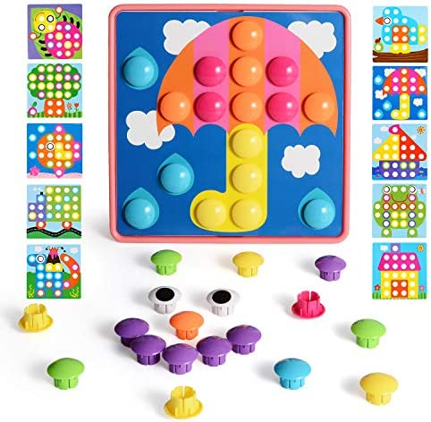 Plastic puzzles for toddlers