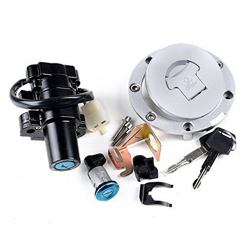 Price comparison product image SET Ignition Switch Lock Key Fuel Gas Cap For Honda CBR 2004-2007 1000RR 2003-2006 600RR