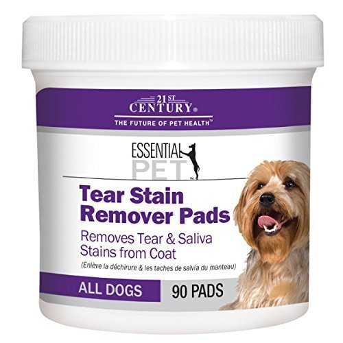 21st Century Tear Stain Remover Dog Pads - 90 Count by 21...