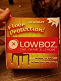Lowboz | Floor Protection - 4 Chair Pack / BROWN