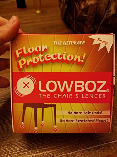 Lowboz   Floor Protection - 4 Chair Pack / BROWN