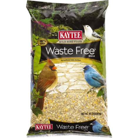 Kaytee Waste Free Bird Feed | No Sunflower Hulls Means no mess (PACK OF 5)