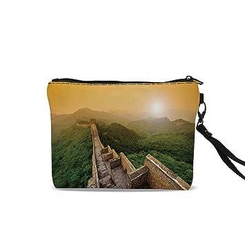 Amazon.com: Bolsa de cosméticos con diseño floral, con ...