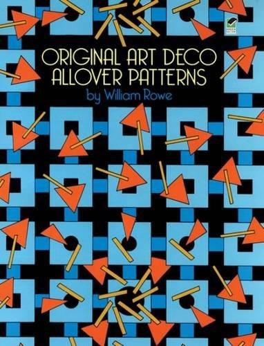 Original Art Deco Allover Patterns (Dover Pictorial Archive)
