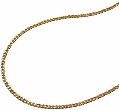 Chaîne collier gourmette plaqué or longueur 38 cm  Amazon.fr  Bijoux 2b0f230e9e5c
