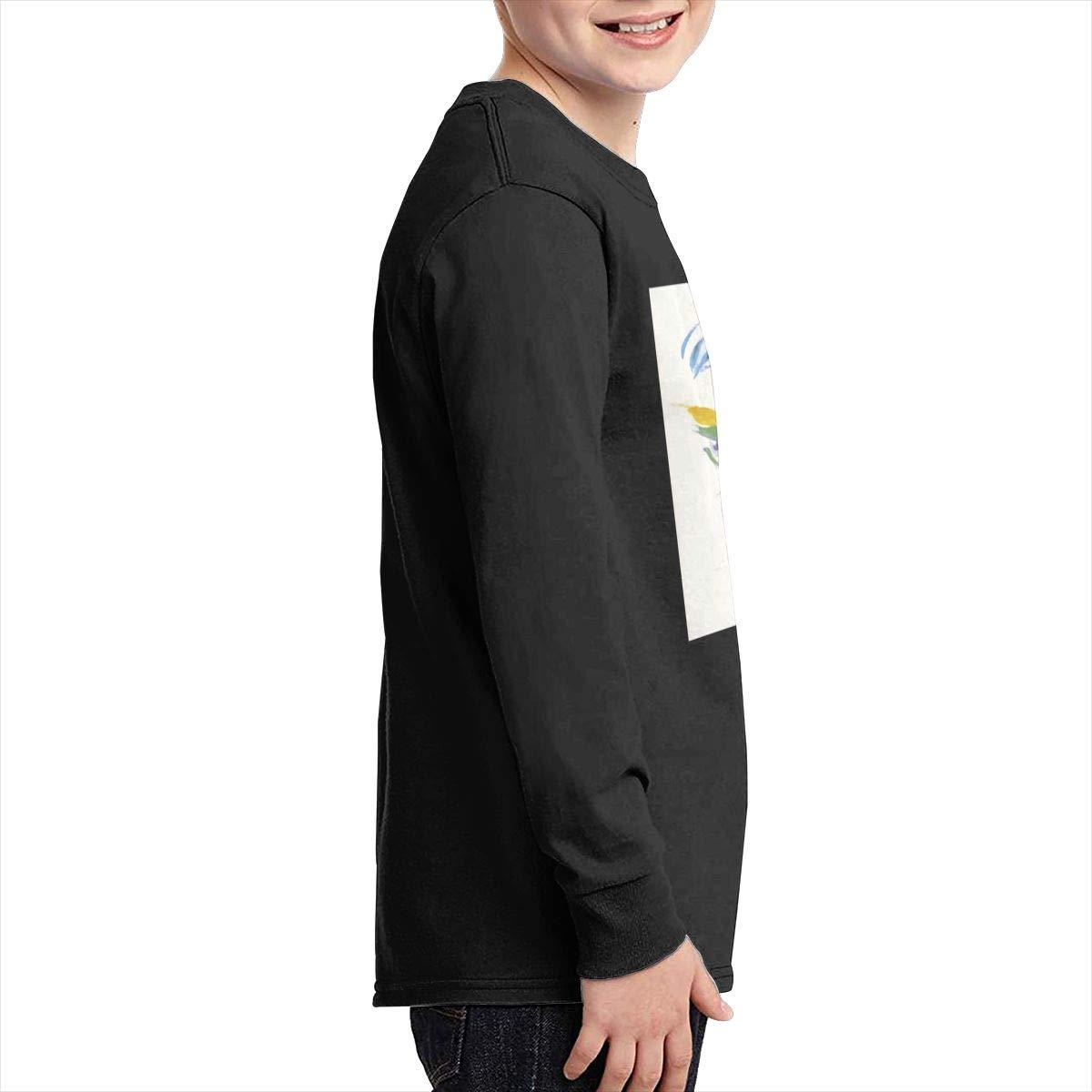 RhteGui The J.Geils Band Boys /& Girls Junior Vintage Long Sleeve T-Shirt Black
