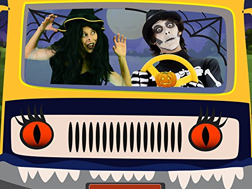 Halloween Pumpkin - Baby Song The Wheels of the Bus with Zombie and Witch]()
