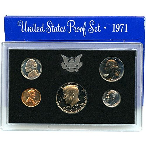 1971 S U.S. Mint Proof Set in Original Government Packaging Proof ()