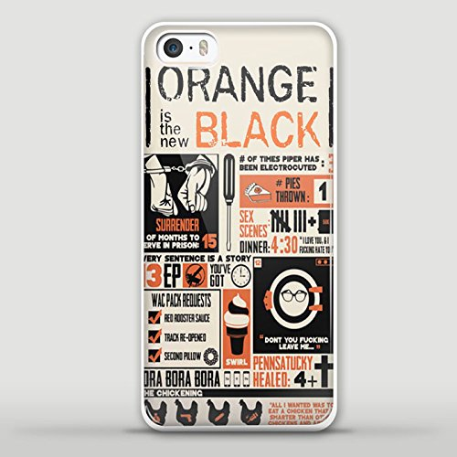 Orange Is New Black Poster Hd Design For Samsung Galaxy And Iphone Case  Iphone 5 5S White