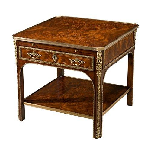 Louis XVI Style Mahogany Lamp Table