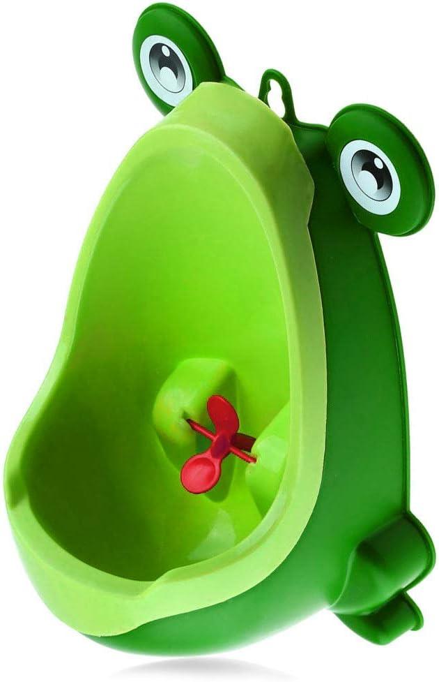 Vertical pou Salon Salle de Bains Pee Trainer Gar/çons Avec Soutien Dr/ôle pour Urinoir pour Entra/înement /À la Cible Meubles Urinoir Froggy Pot pour Les Enfants Chambre