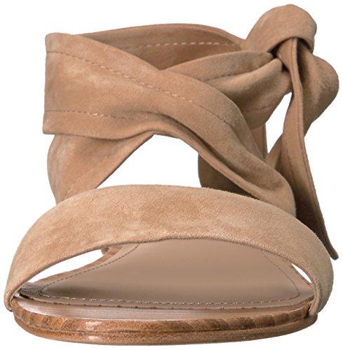 Pour La Victoire Women's Lava Flat Sandal Camel DB2DlX8KrF