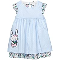Gymboree Baby Girls Sleveless Bunny Dot Dress