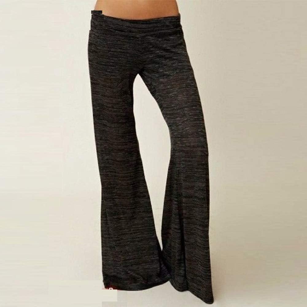 Yoga Pantaloni da Yoga Women Plus Size Yoga Pants High Waist Loose Sport Leggings Fitness Sportswear Women Gym Exercise Running Workout Wide Leg Pants