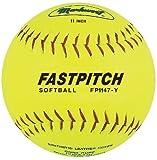 Markwort Fastpitch 11-Inch Softball Yellow Genuine Leather (Dozen) Yellow