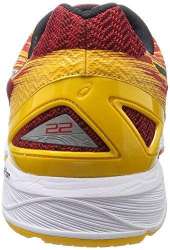 Chaussures Trainer Homme Fusion De prime Black 22 Red Gel Gymnastique Rouge ds Asics Gold wx4Sn10Aq