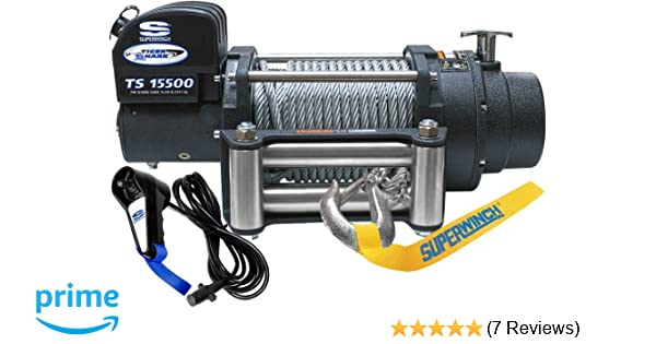 amazon superwinch 1515200 tiger shark 15 5 12 vdc winch 8500 Superwinch Roller Fairlead amazon superwinch 1515200 tiger shark 15 5 12 vdc winch 15 500 lb 7 031 kg capacity with roller fairlead automotive