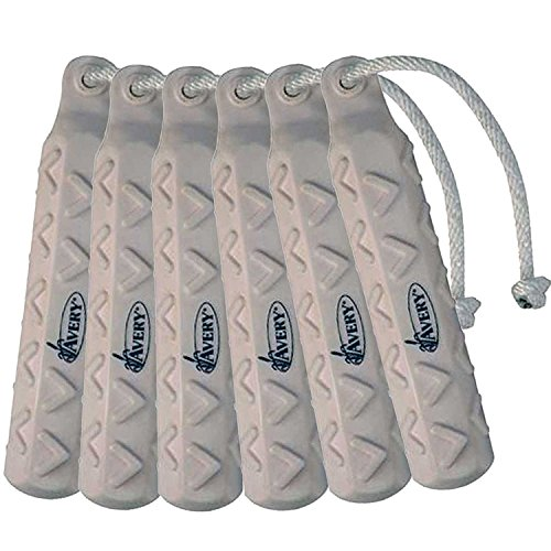 Avery Sporting Dog 2in HexaBumper Trainer,White,Pack of 6