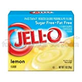 Jello Lemon Instant Pudding and Pie Filling, 1 Ounce - 24 per case.